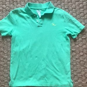 Crewcuts Green Polo